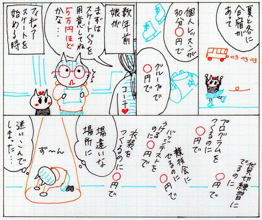 習い事の漫画