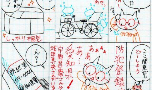 自転車の漫画