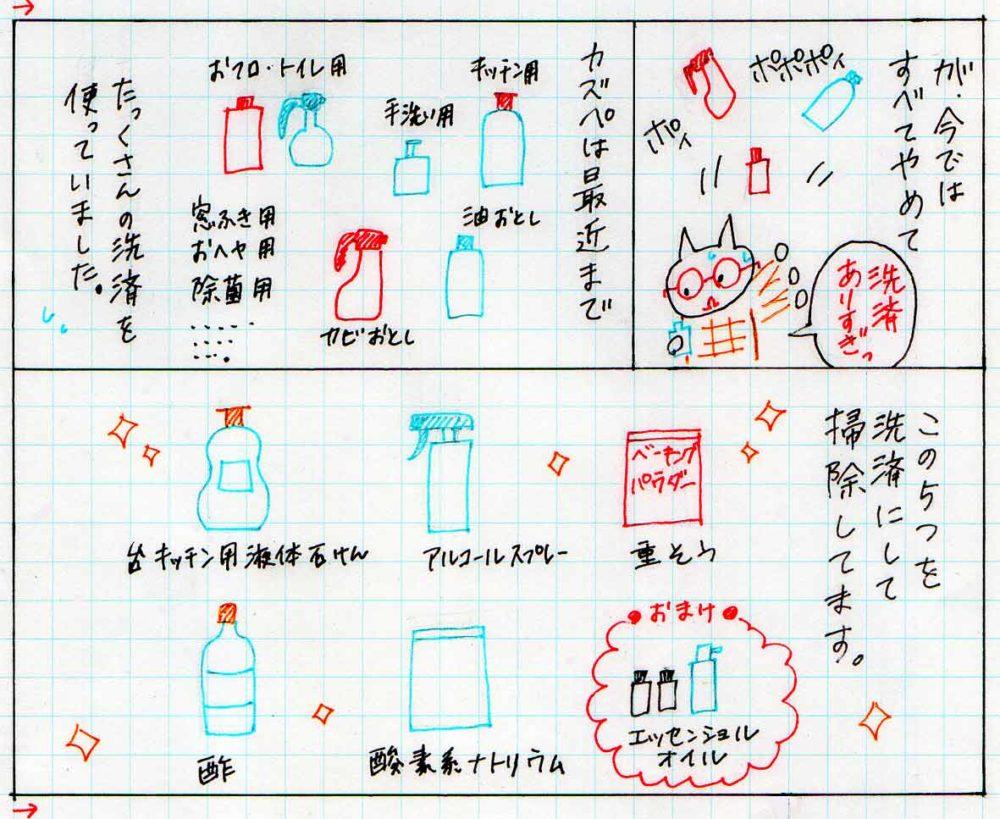 ナチュラル洗剤5種類